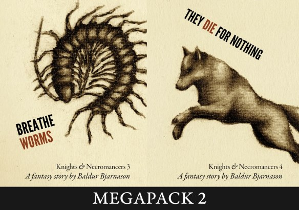 Knights and Necromancers 3-4 MEGAPACK covers